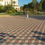 тротуарная плитка днепропетровск ромб