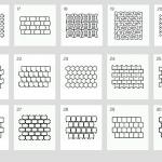схема укладки тротуарной плитки 2